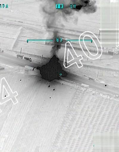 Son Dakika... Genelkurmay açıkladı: 40 araçlık konvoy vuruldu