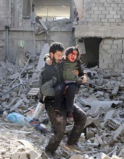 Doğu Guta'ya saldırıda 32 sivil daha öldü