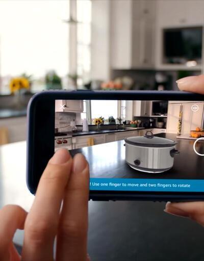 Ar View iOS'in ardından Android'te!