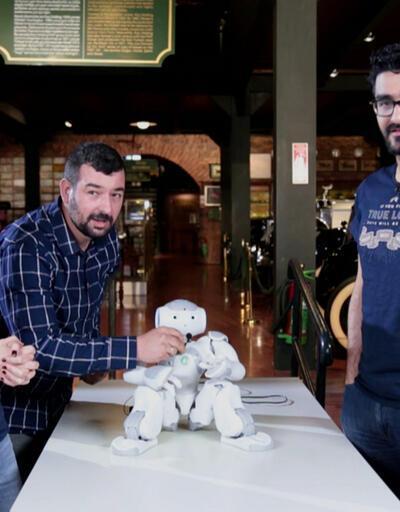 İnsansı robotNAO CAN, Bilin Deneyin'e konuk oldu