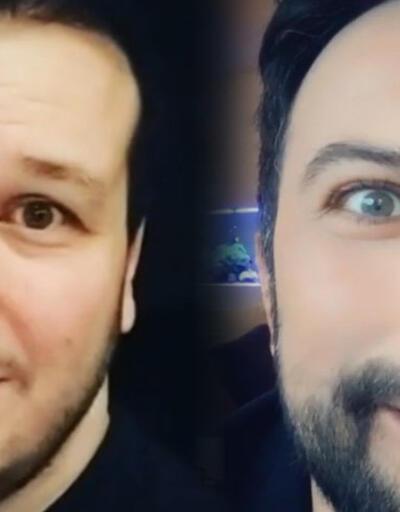 Şahan Gökbakar'dan Megastar Tarkan taklidi