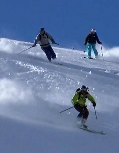 Kaçkar Dağları'na kayakçı akını