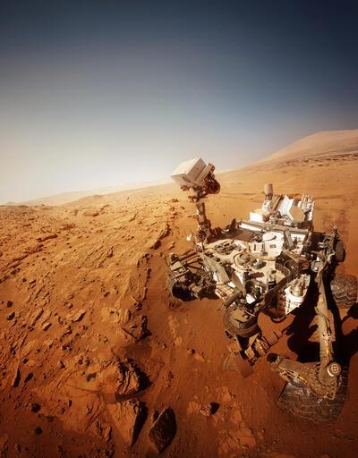 NASA, Mars'ta görüldüğü iddia edilen ayak izinin sırrını açıkladı