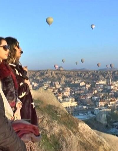 Kapadokya'da kadın buluşması