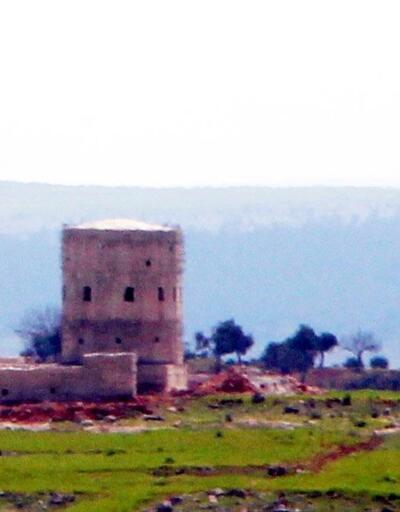 Afrin'de YPG'nin keskin nişancı kulesi böyle vuruldu