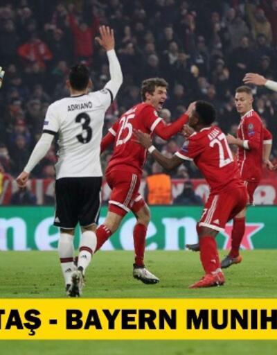 Canlı: Beşiktaş-Bayern Münih maçı izle | Tivibu Spor canlı yayın (Şampiyonlar Ligi Son 16 Turu)