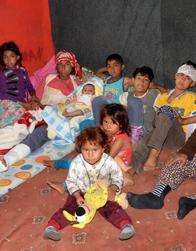 Kazada yaralandılar: Çadırda yaşam mücadelesi veriyorlar