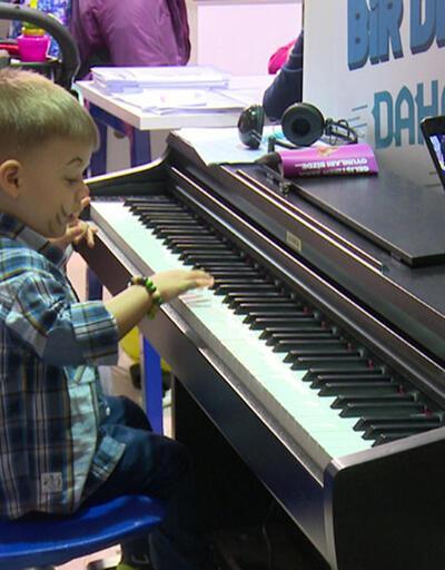 Çocuk Gelişim Fuarı'na yoğun ilgi