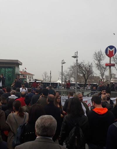 Kadıköy'de baraj protestosu: Munzuruma Dokunma!