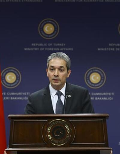 Dışişleri Bakanlığı'ndan TRT haber ekibi hakkında açıklama