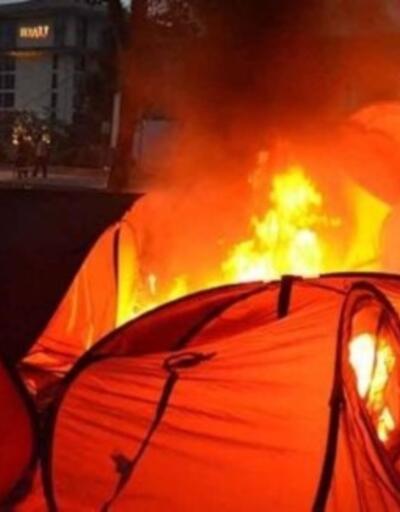 Gezi'de çadırları yaktıran polis müdürünün cezası belli oldu