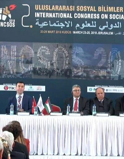 2. Sosyal Bilimler Kongresi'ne Doğu Kudüs ev sahipliği yaptı