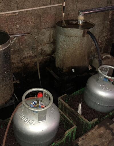 Adana'da 5 bin 235 litre sahte rakı ele geçirildi