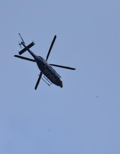 Fatih'te helikopter destekli asayiş denetimleri