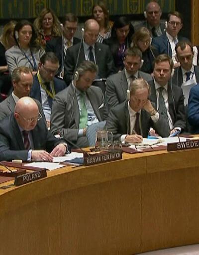 Son dakika... BM Güvenlik Konseyi Gazze gündemiyle toplanıyor