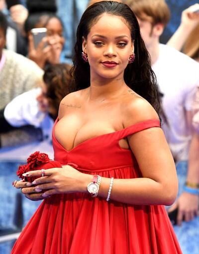 Rihanna'ya büyük şok! Polisler helikopterle evine gitti