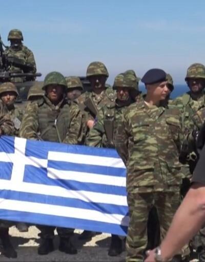 Yunanistan isim vermeden Türkiye'yi hedef aldı: Onları ezeceğiz