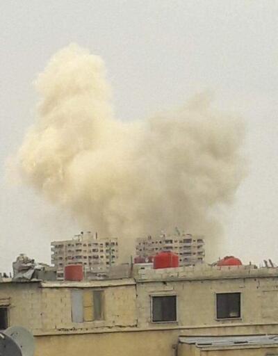 Son dakika... Suriye'nin başkenti Şam'da büyük patlama