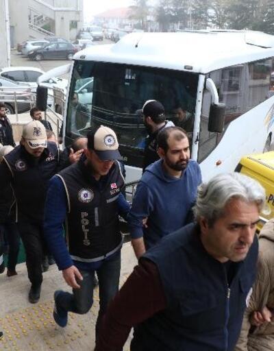 Zonguldak'taki FETÖ operasyonunda 9 tutuklama