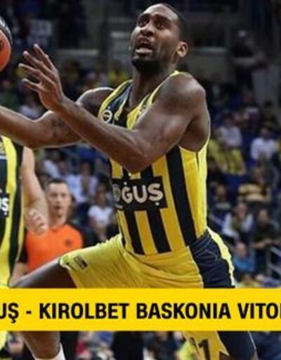 Canlı: Fenerbahçe-Baskonia maçı izle   Euroleague Çeyrek Final canlı yayın