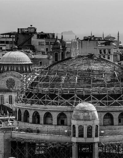 Ramazanda açılması planlanıyor: İşte Taksim Camii inşaatında son durum