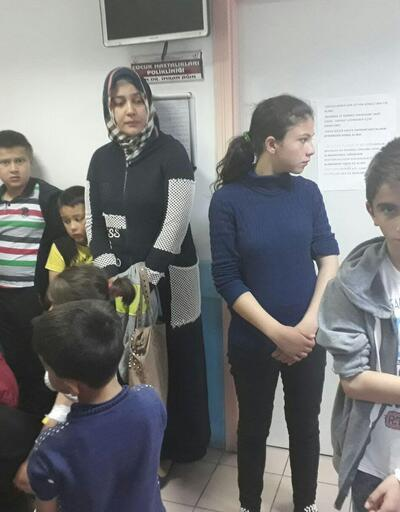 8 öğrenci cıva zehirlenmesi şüphesiyle Ankara'ya sevk edildi