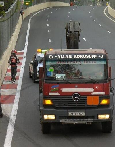 Türk bayraklı çekici güne damgasını vurdu