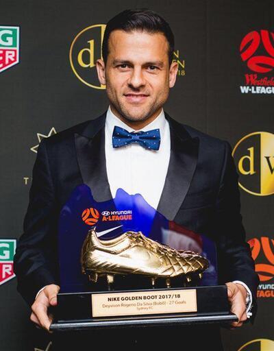Eski Beşiktaşlı Bobo, 'Altın Ayakkabı'nın sahibi oldu