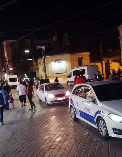 Taksim araç ve yaya trafiğine açıldı