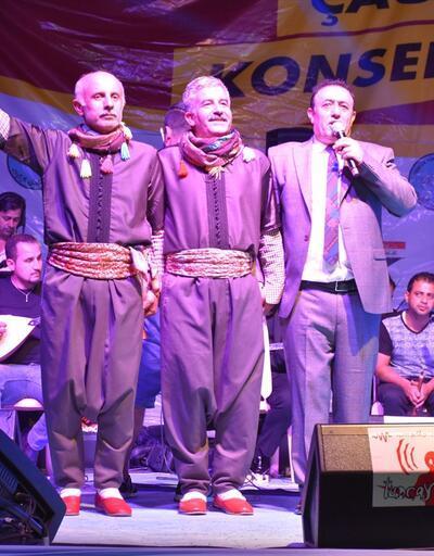 Mahmut Tuncer ve Muazzez Ersoy'dan Kerkük'te Türkmenlere destek konseri