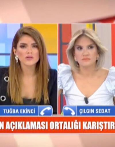 Çılgın Sedat Tuğba Ekinci'ye ateş püskürdü: Sen ne kadar terbiyesiz bir kadınsın?