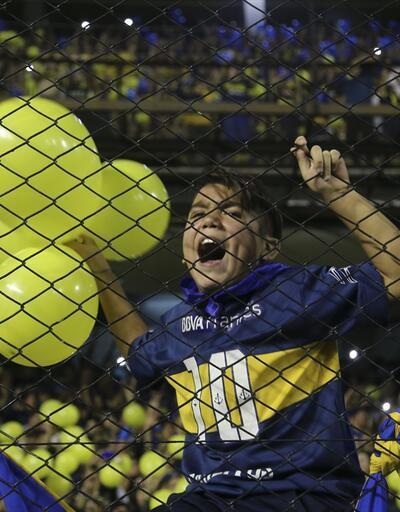 Boca Juniors şampiyon oldu, yer gök inledi
