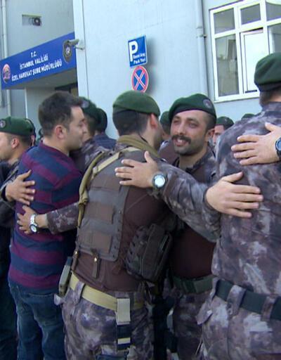 Özel harekatçılar Afrin'den döndü