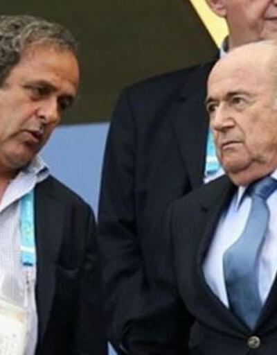 Sepp Blatter'e göre sorumlu Platini