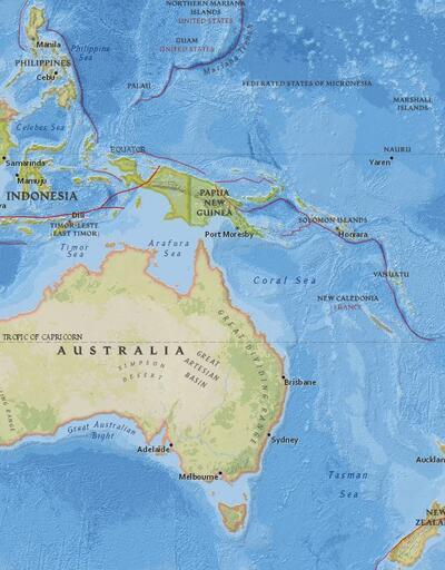 Pasifik'te 6.2 büyüklüğünde deprem