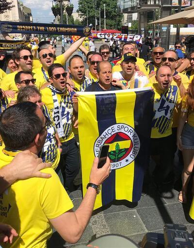 Belgrad'da Fenerbahçe coşkusu
