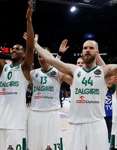 CSKA'yı yenen Zalgiris, Avrupa üçüncüsü oldu