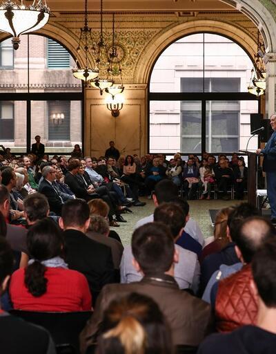 Prof. İlber Ortaylı'dan ABD'de Osmanlı ve İstanbul'un fethi konferansı