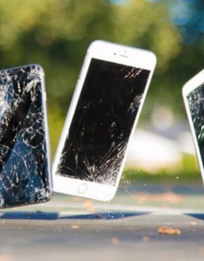 Dünyanın en pahalı telefon düşürme testi