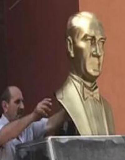 Atatürk heykelini kıran sanık hakkında karar: 'Cezalandırılmasına yer yok'
