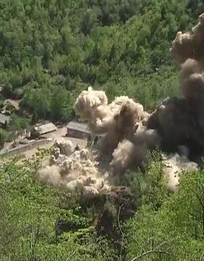 Pyongyang: Nükleer test alanı imha edildi