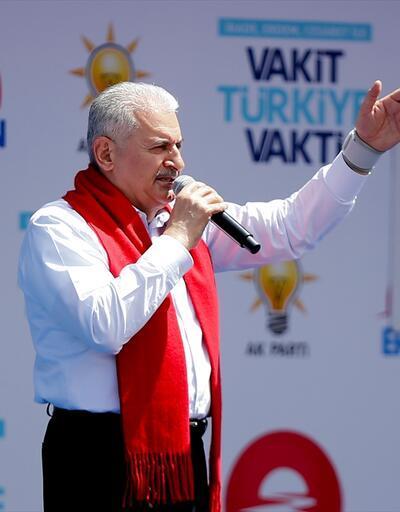 Başbakan Yıldırım'dan Muharrem İnce'nin sözlerine cevap