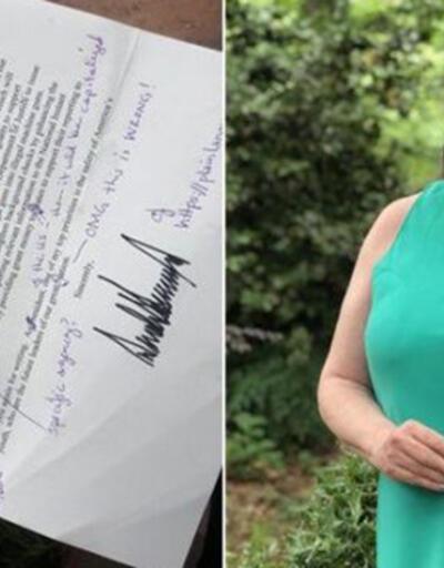 Öğretmen mektuptaki hataları düzeltip geri yolladı: Başkan Trump İngilizceden sınıfta kaldı