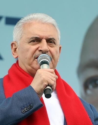 Başbakan Yıldırım'dan İnce'ye: Sen CHP'nin seçim beyannamesini okumadın mı?