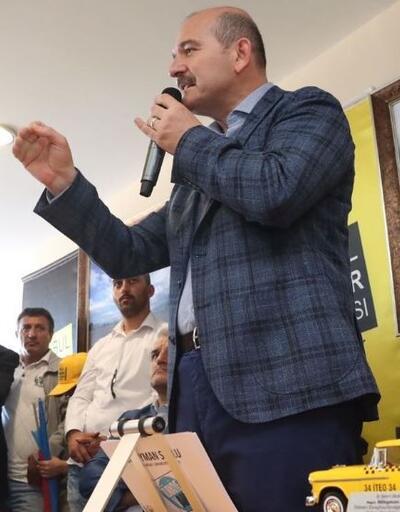 İçişleri Bakanı Soylu'dan flaş UBER açıklaması