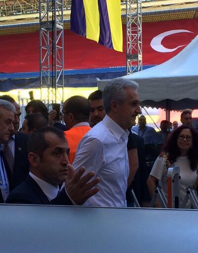 Mehmet Ali Aydınlar yuhalandı