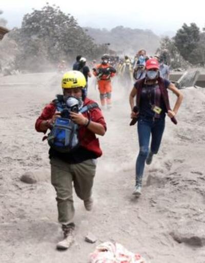 Guatemala'daki yanardağ felaketi: 75 ölü 192 kişi kayıp