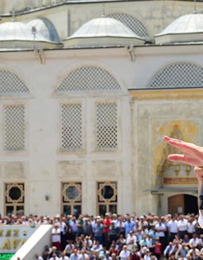 Muharrem İnce İstanbul'da konuştu: 'Rakibim Beyaz Türk'