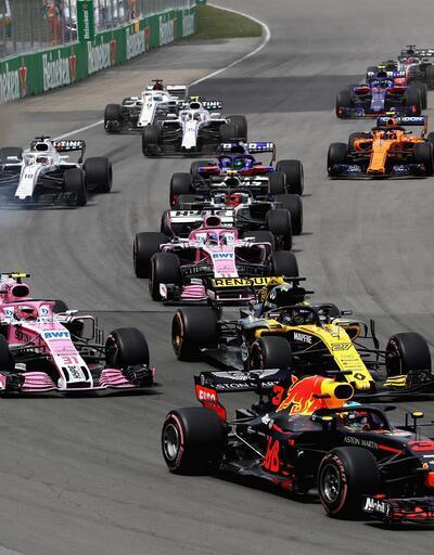 Formula 1'de kurallar değişti