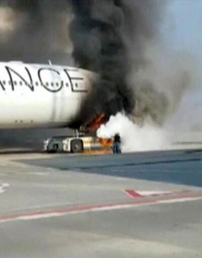 Havaalanında yangın!